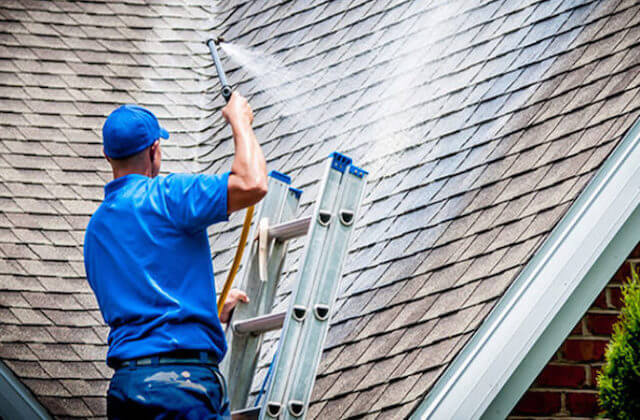 bloomington roof cleaning